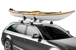 kajakki ja kanoottiteline